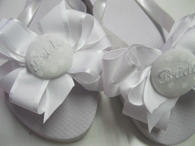 67168d1853baa Bridal flip flops
