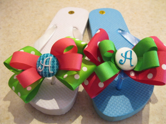 Funny Feet Flip Flops-mix match flip flops, fun flip flops, personalized flip flops
