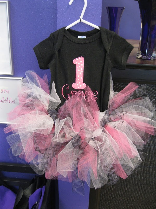 Birthday Tutu Onesie