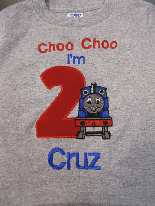 Choo Choo Birthday-second birthday, choo choo, Thomas the train, birthday boy, birthday