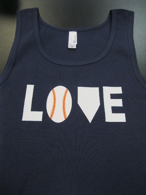 LOVE baseball shirt-