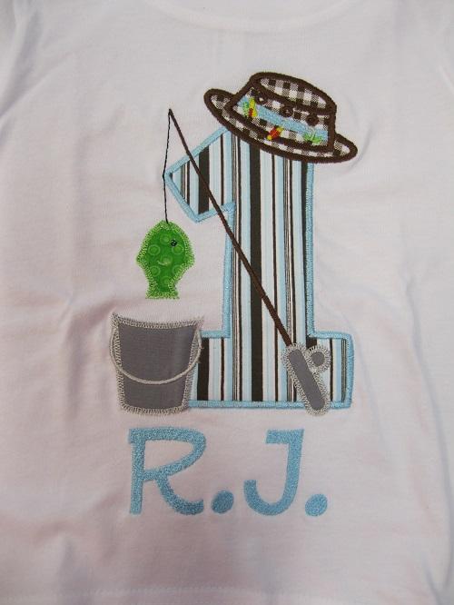 Fisherman Birthday shirt