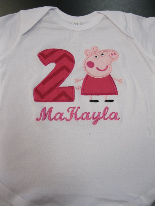 Petuna Pig Birthday Shirt
