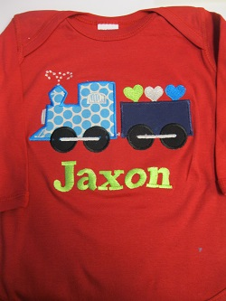 Valentine Train Shirt