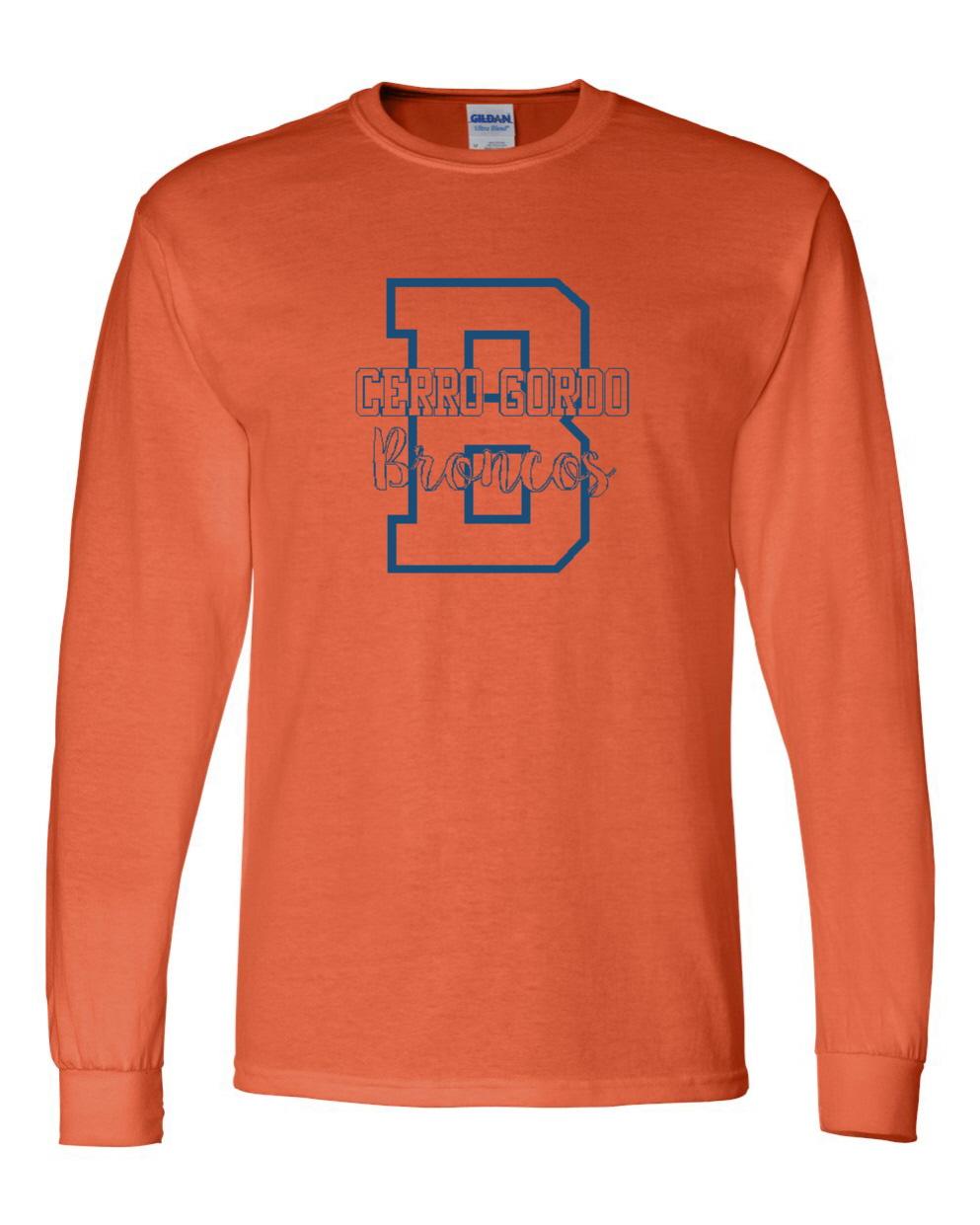 B for Broncos