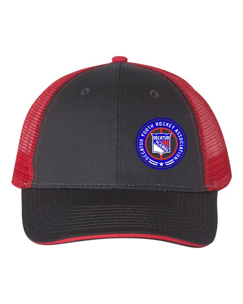 Round logo hat