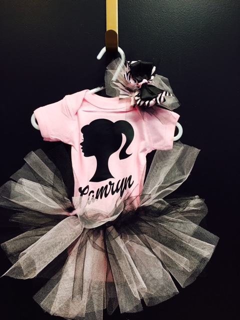 Barbie themed outfit