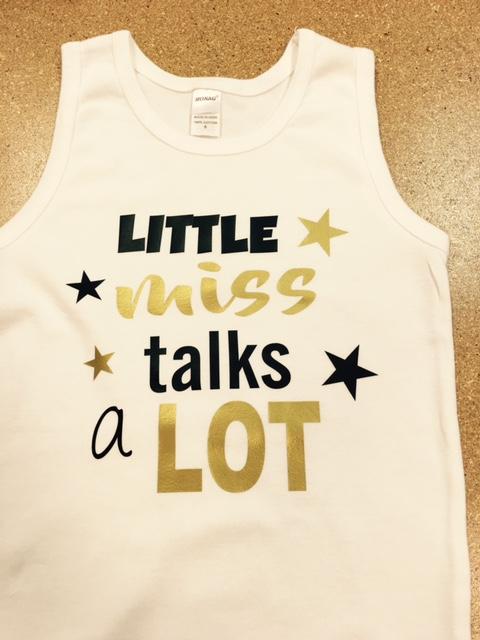 Little miss talks alot