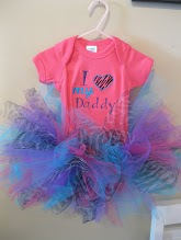 I love my Daddy Tutu Onesie
