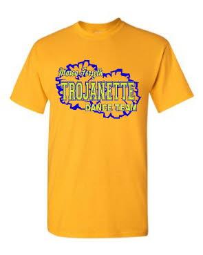 Trojanette Pom Shirt