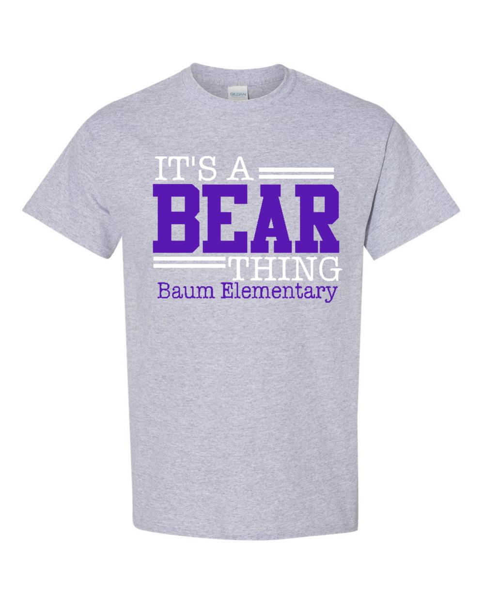It's A Bear Thing
