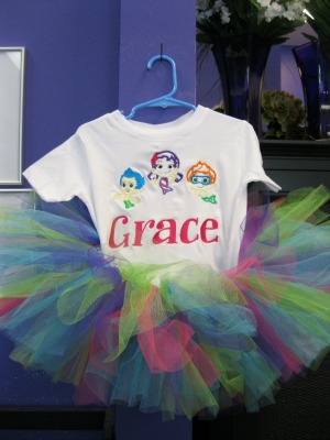 Bubble Guppies Tutu