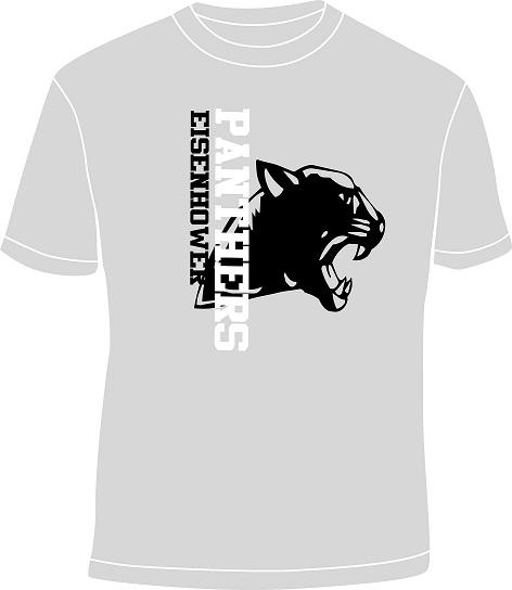 Sideways logo shirt