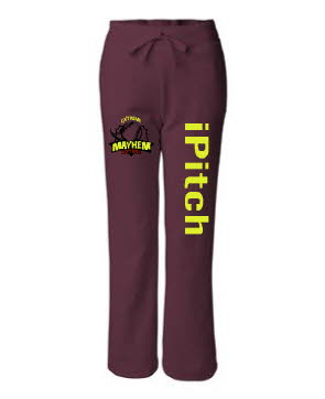 icath, ipitch, isteal sweatpants