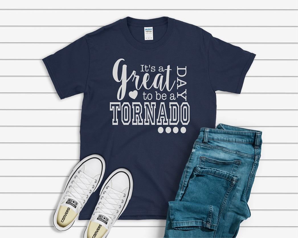 It's a great day Tornado