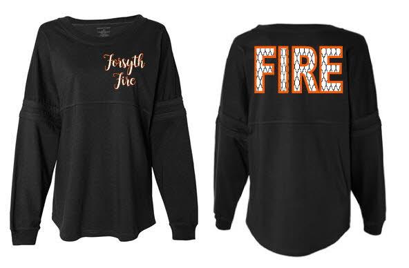 Forsyth Fire Pom Jersey