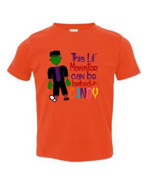 Boy halloween tshirt