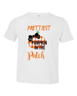 Prettiest pumpkin in the patch
