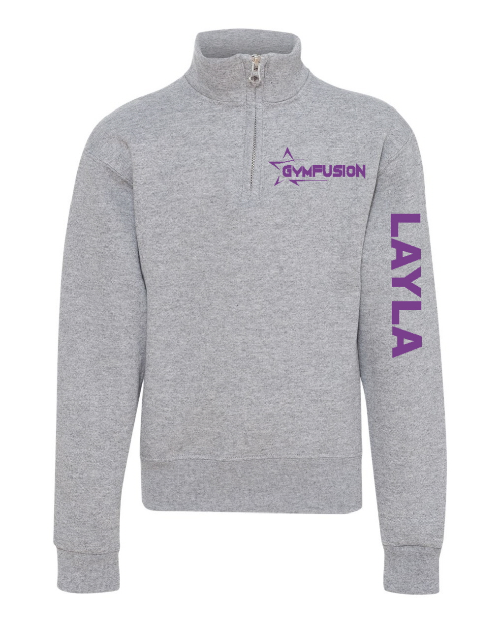 Quarterzip Fleece Gymfusion