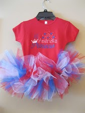 4th of July Tutu Onesie