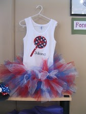 4th of July Tank Top Tutu
