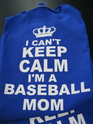 Keep Calm Baseball