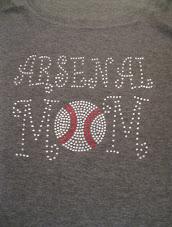 Rhinestone Mom Spirit Shirt