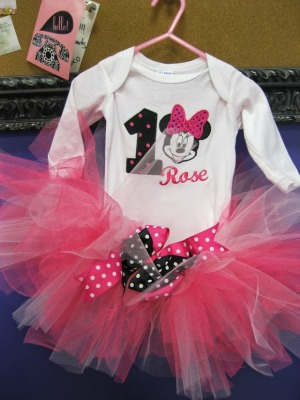 Mickey Mouse Birthday Tutu