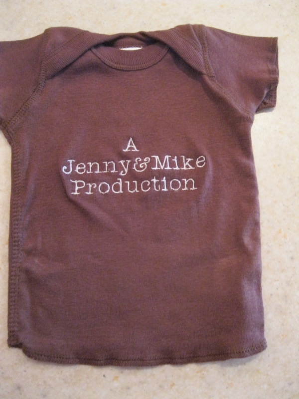 Customized Baby/Toddler Shirt