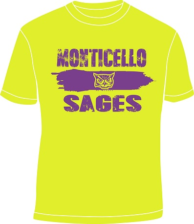 Sages distressed shirt