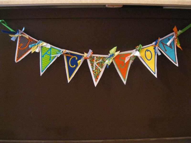 Completely new fabric name banners, personalized banners, wedding banners  CJ73