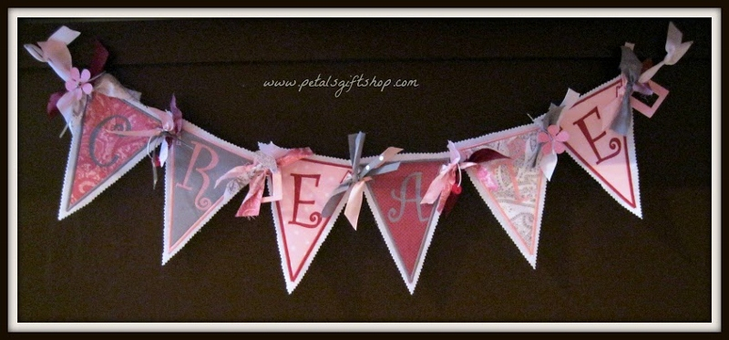 Fabric Banner 6 letters